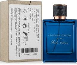 Духи, Парфюмерия, косметика Cristiano Ronaldo Legacy Private Edition - Парфюмированная вода (тестер c крышечкой)