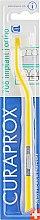 """Духи, Парфюмерия, косметика Монопучковая зубная щетка """"Single CS 708"""", желто-белая - Curaprox"""