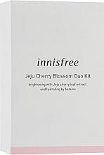 Духи, Парфюмерия, косметика Набор - Innisfree Jeju Cherry Blossom Duo Kit (toner/50ml+lot/30ml)