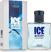 Духи, Парфюмерия, косметика Dilis Parfum Eau de Cologne Ice Action - Одеколон