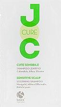 Духи, Парфюмерия, косметика Успокаивающий шампунь с экстрактом календулы, алтея и бессмертника - Barex Italiana Joc Cure Soothing Shampoo (пробник)