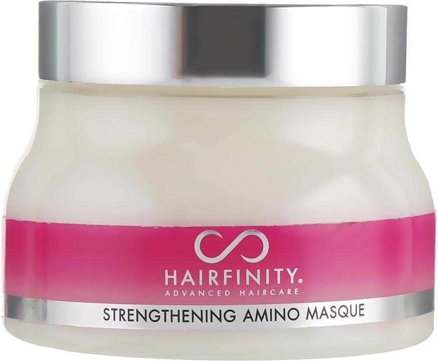 Укрепляющая аминомаска - Hairfinity Strengthening Amino Masque