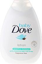 Духи, Парфюмерия, косметика Детский лосьон для тела увлажняющий - Dove Baby Sensitive
