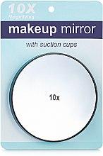 Духи, Парфюмерия, косметика Зеркало подвесное с х10 увеличением, 8.5 см, черное - Элита Makeup Mirror