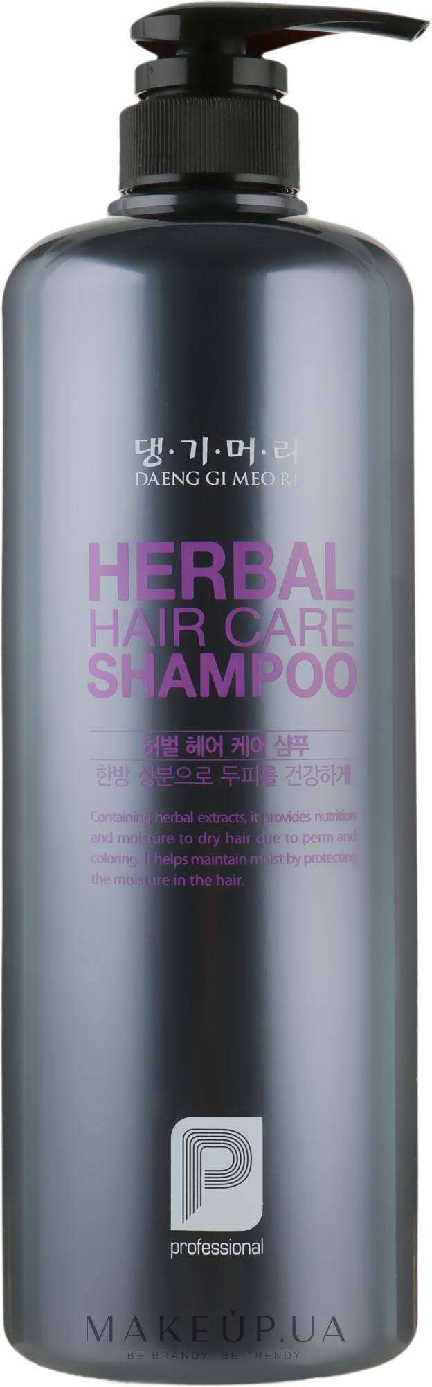 Профессиональный шампунь на основе целебных трав - Daeng Gi Meo Ri Professional Herbal Hair Shampoo — фото 1000ml