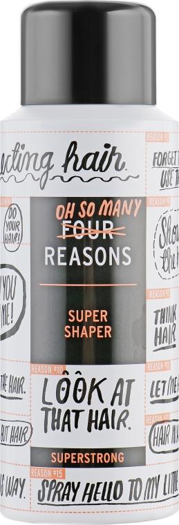 Мини лак для волос очень сильной фиксации - KC Professional Four Reason Travel Super Shaper