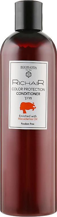 "Кондиционер ""Защита цвета"" с маслом макадамии - Egomania Richair Color Protecrion Conditioner"
