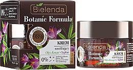 Духи, Парфюмерия, косметика Крем для лица увлажняющий - Bielenda Botanic Formula Hemp Oil + Saffron Moisturizing Cream