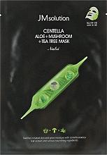 Духи, Парфюмерия, косметика Успокаивающая тканевая маска - JMsolution Centella Aloe + Mushroom + Tea Tree