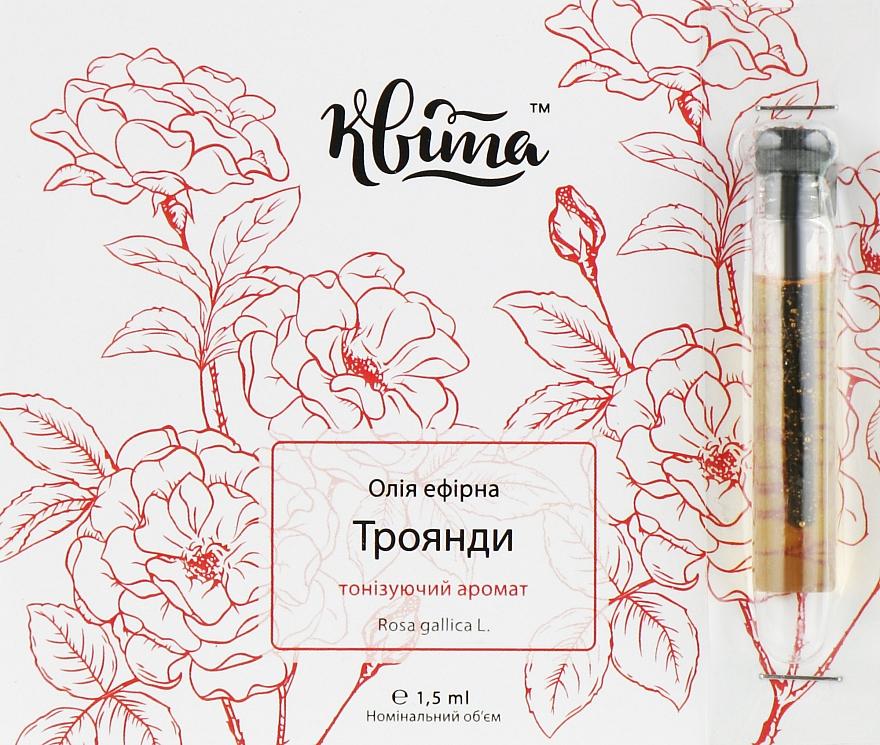 """Эфирное масло """"Роза гальская"""" - Квіта"""