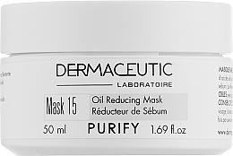 Духи, Парфюмерия, косметика Поросуживающая глиняная маска - Dermaceutic Laboratoire Mask 15 Oil Reducing Mask