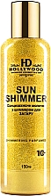 Духи, Парфюмерия, косметика Молочко для загара с шиммером - HD Hollywood Sun Shimmer Body Milk SPF 10
