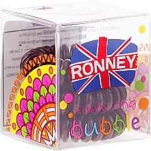 Духи, Парфюмерия, косметика Резинки для волос, 3,5 см - Ronney Professional S11 MAT Funny Ring Bubble
