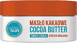 Духи, Парфюмерия, косметика Какао-масло для лица и тела - Golden Sun Cocoa Butter
