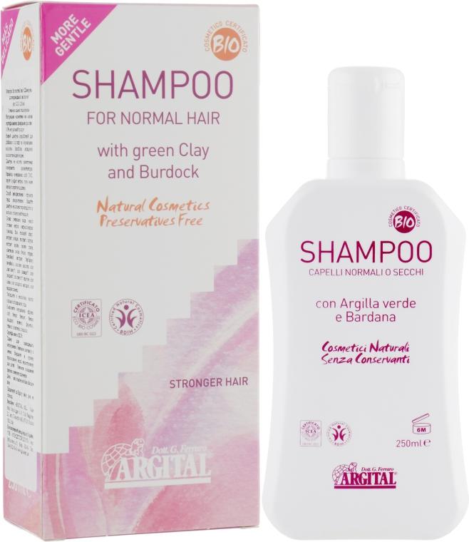 Шампунь для нормальных волос - Argital Shampoo For Normal Hair