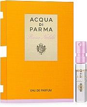 Духи, Парфюмерия, косметика Acqua di Parma Rosa Nobile - Парфюмированная вода (пробник)