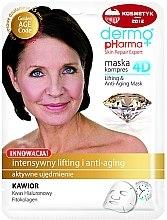 Духи, Парфюмерия, косметика Маска для лица - Dermo Pharma Skin Repair Expert Lifting Anti Aging Mask 4D
