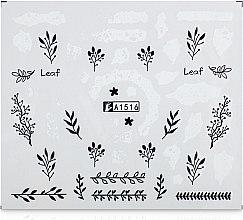 Парфумерія, косметика Водні наклейки для нігтів, A - Vizavi Professional