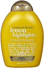 Духи, Парфюмерия, косметика Кондиционер для блеска - OGX Lemon Highlights Conditioner