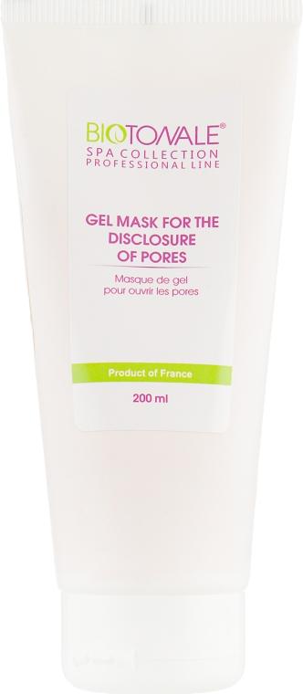 Гель-маска для раскрытия пор - Biotonale Gel Mask For The Disclosure of Pores