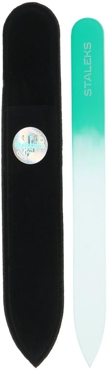 Пилочка хрустальная для ногтей, F4-12-120, бирюзовая - Staleks (12см)