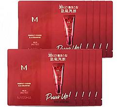 Духи, Парфюмерия, косметика ВВ крем - Missha M Perfect Cover BB Cream RX SPF42/PA+++ (пробник)