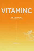 Духи, Парфюмерия, косметика Увлажняющая тканевая маска с витамином С - Barulab The Clean Vegan Vitamin C Mask