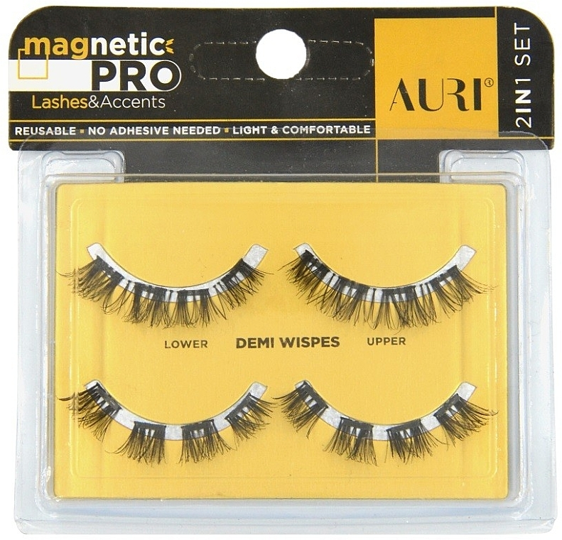 Магнитные ресницы - Auri Magnetic Pro Demi Wispies