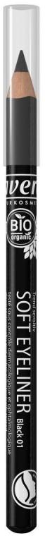 Карандаш для глаз - Lavera Soft Eyeliner Pencil