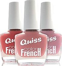 "Духи, Парфюмерия, косметика Лак для ногтей ""Французский цвет"" - Quiss French color"