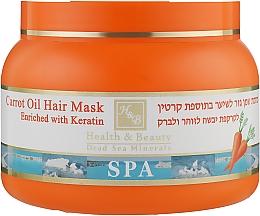 Духи, Парфюмерия, косметика Грязевая маска для волос с морковным маслом - Health And Beauty Carrot Oil & Mud Hair Mask