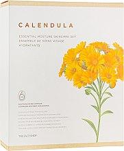 Духи, Парфюмерия, косметика Набор для лица - The Face Shop Calendula Essential Moisture Skin Care Set