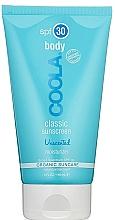 Духи, Парфюмерия, косметика Крем для тела без запаха - Coola Classic Body SPF 30 Unscented