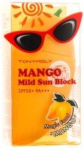 Духи, Парфюмерия, косметика Солнцезащитный крем - Tony Moly Magic Food Mango Mild Sun Block SPF50+