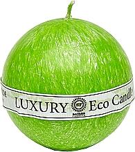 Духи, Парфюмерия, косметика Свеча из пальмового воска, 8 см, ярко зеленая - Saules Fabrika Luxury Eco Candle
