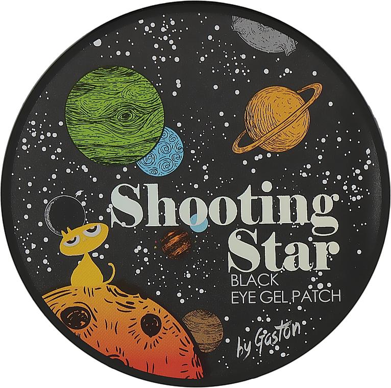 Черные гидрогелевые патчи для глаз - Gaston Shooting Star Black Eye Gel Patch