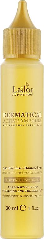 Филлер против выпадения волос - La'dor Dermatical Active Ampoule