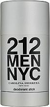 Духи, Парфюмерия, косметика Carolina Herrera 212 Man NYC - Дезодорант стик
