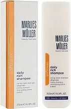 Духи, Парфюмерия, косметика Восстанавливающий обогащенный шампунь - Marlies Moller Softness Daily Repair Rich Shampoo