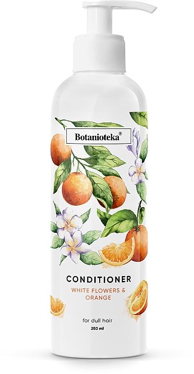 """Кондиционер для тусклых волос """"Апельсин и белые цветы"""" - Botanioteka Conditioner For Dull Hair"""