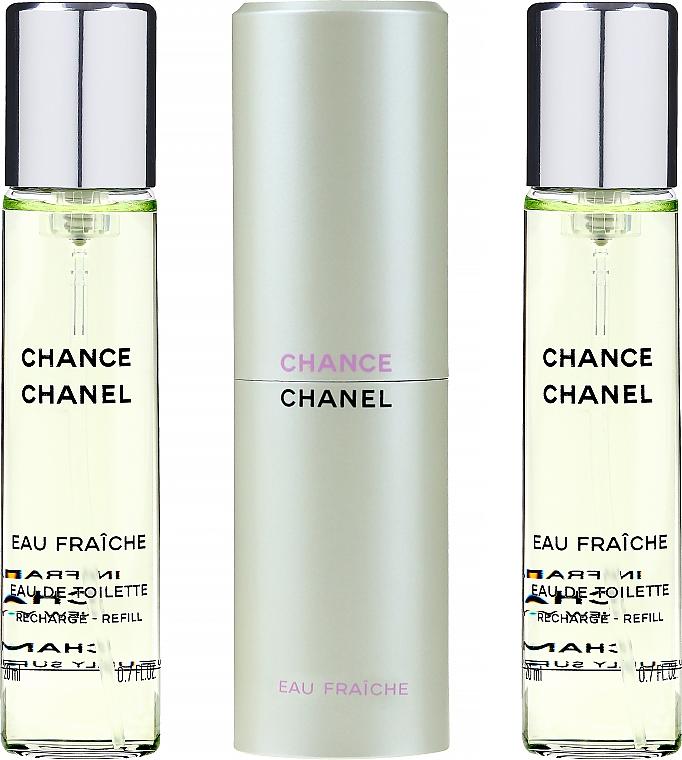 Chanel Chance Eau Fraiche - Туалетная вода (сменный блок с футляром)