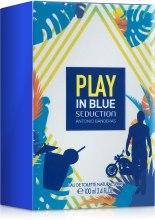 Antonio Banderas Play In Blue Seduction For Men - Туалетная вода — фото N3