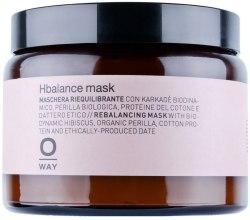 Духи, Парфюмерия, косметика Маска для волос при применении щелочных средств - Oway Hbalanse Mask