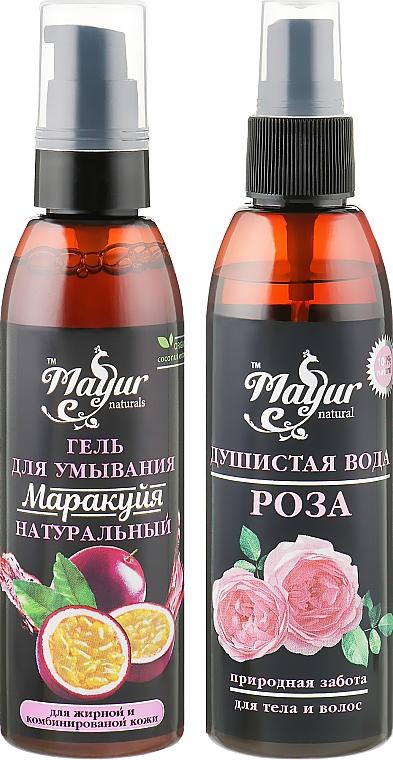 Набор для лица и тела - Mayur (f/gel/100ml + water/100ml)