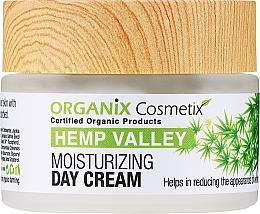 Духи, Парфюмерия, косметика Увлажняющий дневной крем для лица - Organix Cosmetix Hemp Valley Moisturizing Day Cream