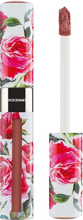Жидкая матовая помада - Dolce&Gabbana Dolcissimo Matte Liquid (тестер)