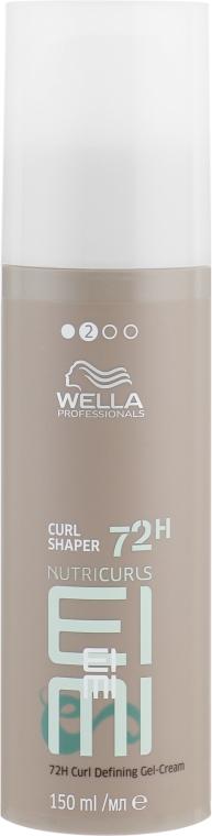 Гель-крем для укладки кудрявых волос - Wella Professionals EIMI Nutricurls Curl Shaper