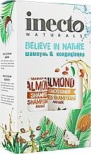 Духи, Парфюмерия, косметика Набор - Inecto Naturals Almond (shm/500ml + cond/500ml)