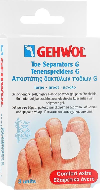 Гель-корректор для большого пальца Геволь G, большой - Gehwol Toe Separators G