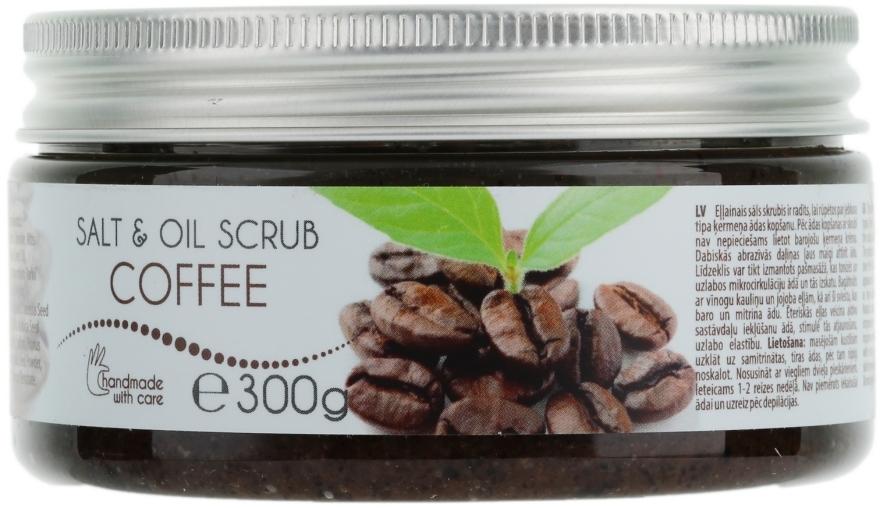 "Масляный скраб для тела ""Кофе"" - Ceano Cosmetics Body Scrub Coffee"